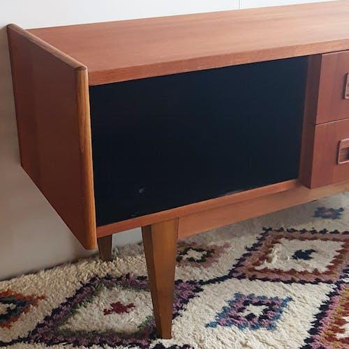 Meuble TV scandinave teck années 60