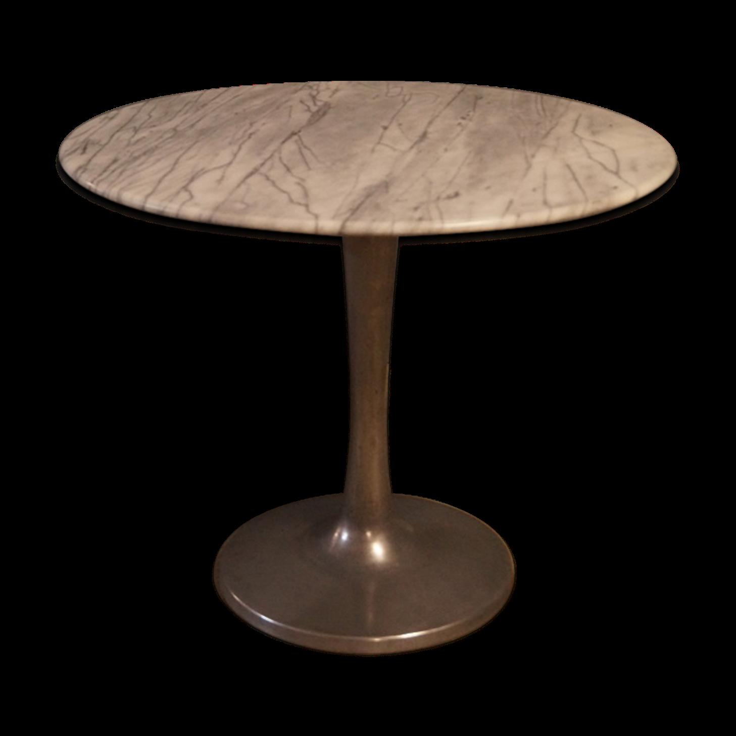 finest elegant table pitement tulipe en marbre design with table ovale marbre design with table. Black Bedroom Furniture Sets. Home Design Ideas