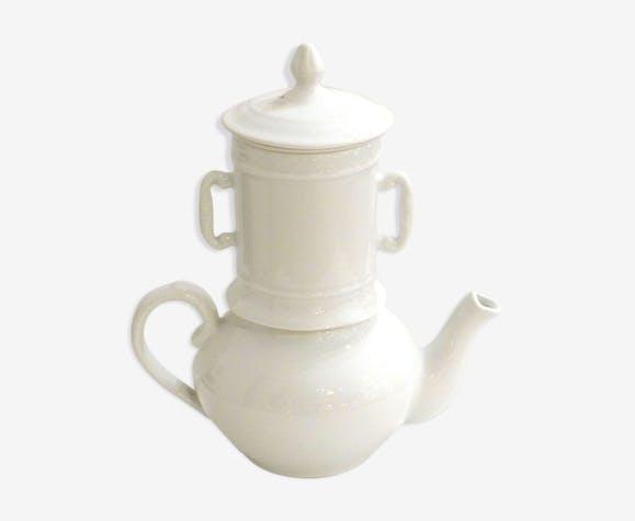 Cafetière Apilco en porcelaine avec filtre et infuseur