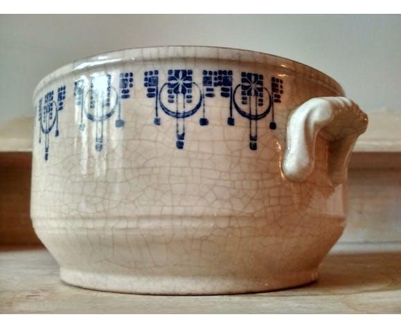 Ancienne soupière en céramique de St Uze