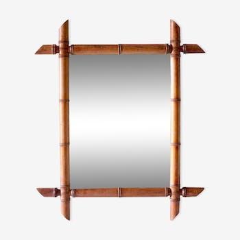 Miroir style bambou 47x55cm