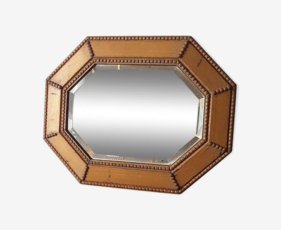 Miroir art déco années 60 50x40cm