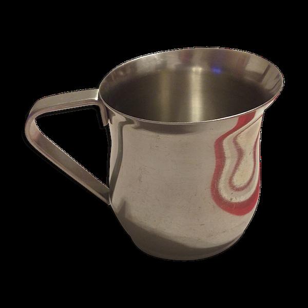 Pot à lait 13 cl en inox Ilsa