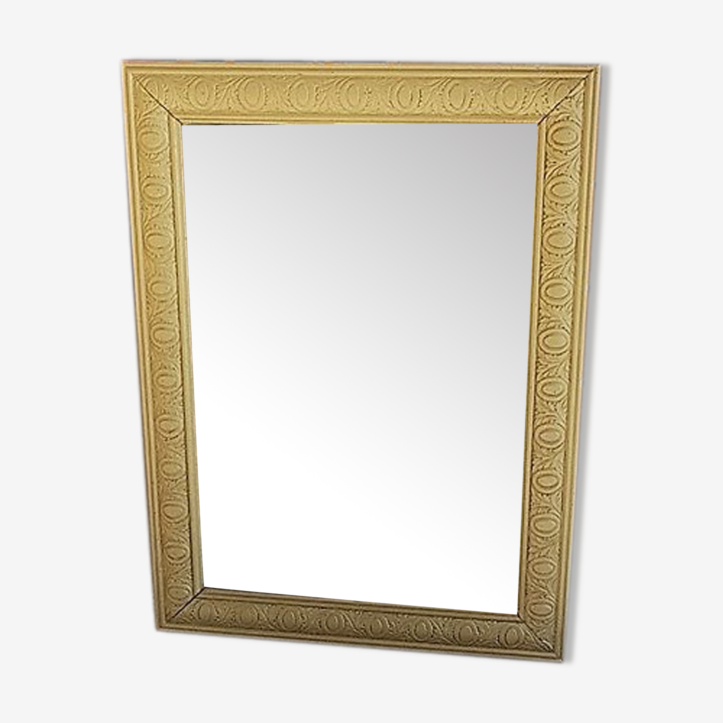 Gilded mirror from the 40's - 54x72cm