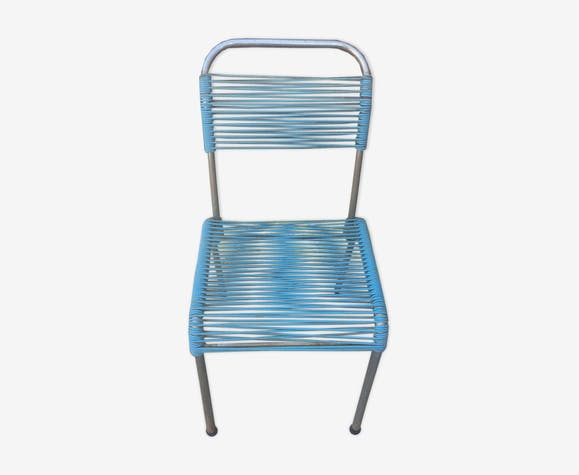 Chaise scoubidou 1960