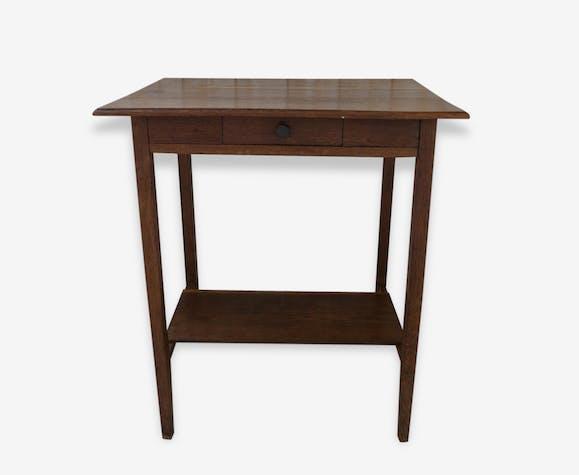 petite table en ch ne classique petit bureau table d. Black Bedroom Furniture Sets. Home Design Ideas