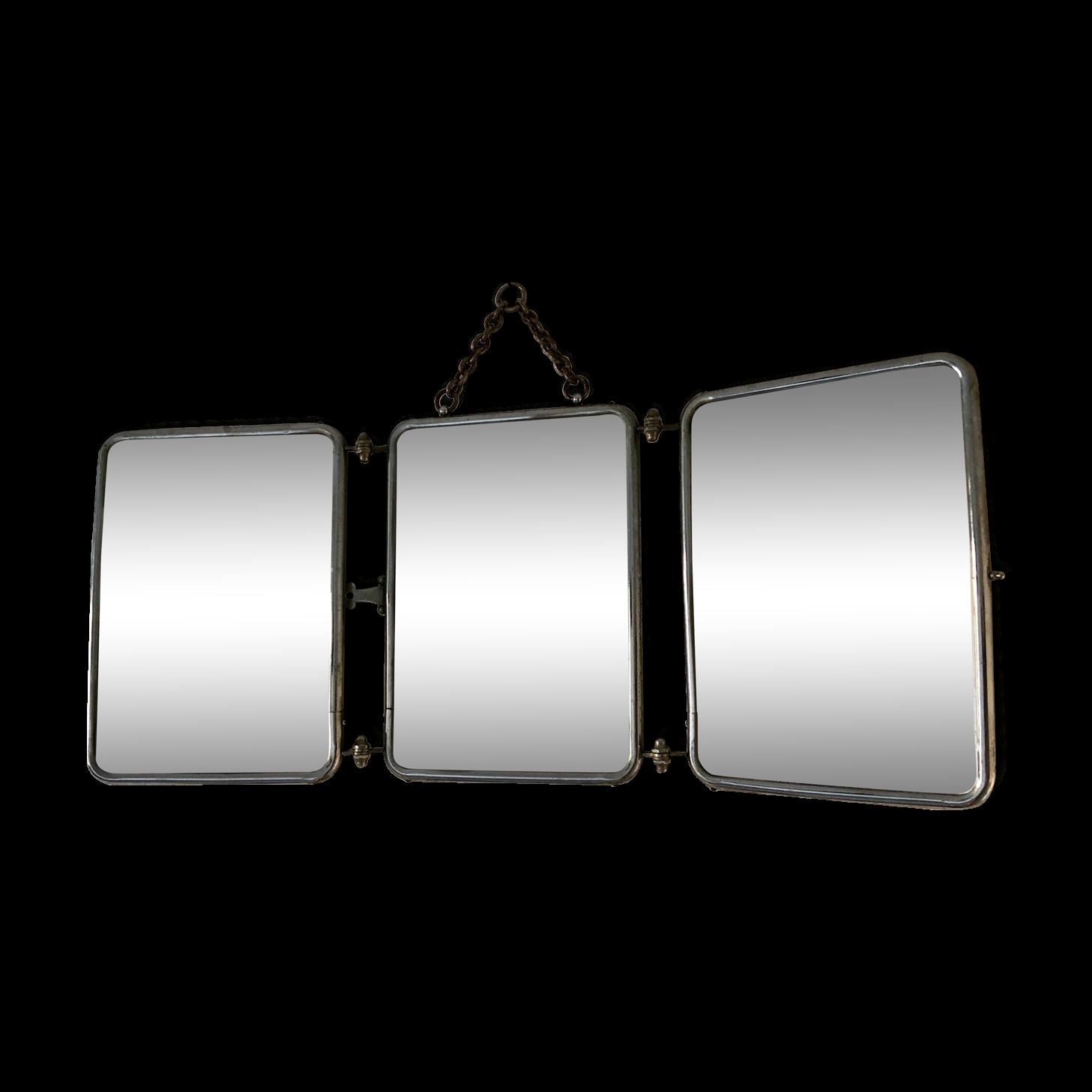miroir triptyque free miroir triptyque ancien with miroir triptyque elegant miroir triptyque. Black Bedroom Furniture Sets. Home Design Ideas