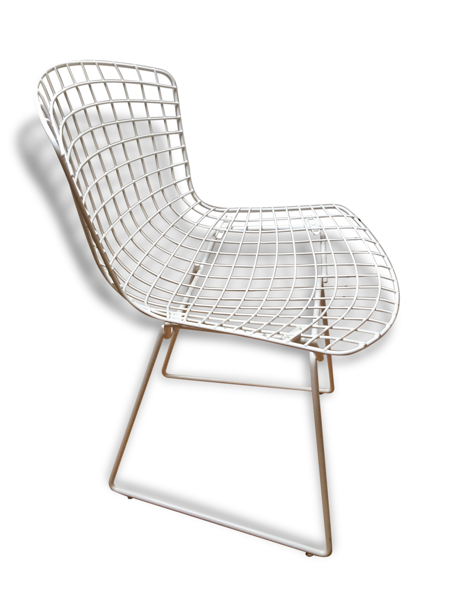 coussin chaise bertoia cool chaise bertoia chrome avec galette duassise en tissu knoll with. Black Bedroom Furniture Sets. Home Design Ideas