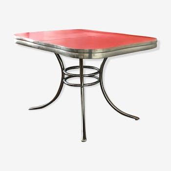 Table à manger en formica  vintage