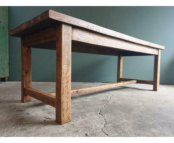Old oak table dining table