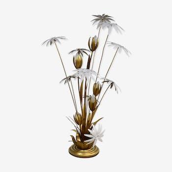 Lampadaire floral par Hans Kögl 1970s