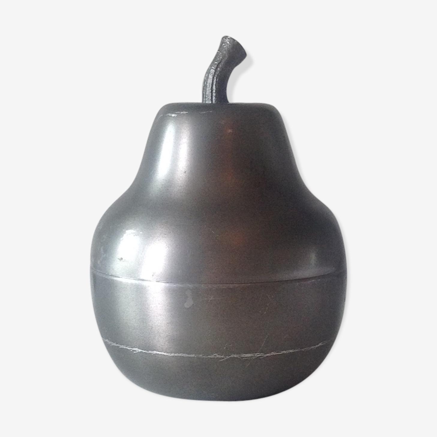 Pear ice bucket