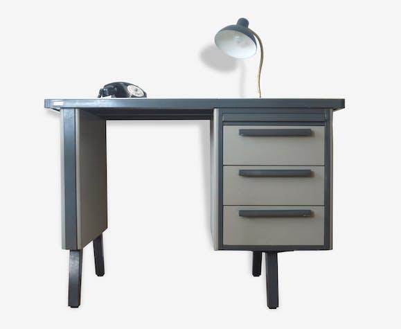 bureau metallique industriel bureau m tallique vintage strafor design industriel