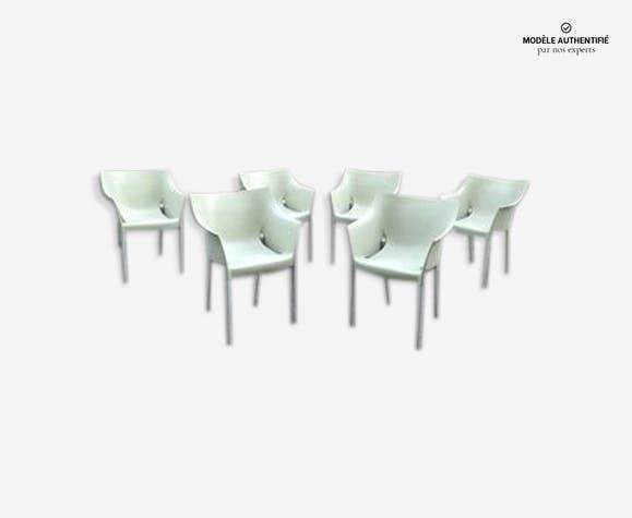 6 fauteuils DrNo par Starck pour Kartell
