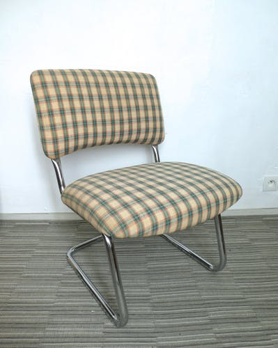 Fauteuil chauffeuse Steelcase Strafor des années 60-70