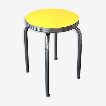 "Tabouret ""style diners americain"" des années 50"