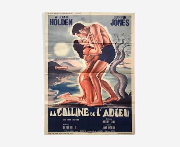 Affiche originale française la colline de l'adieu, contantin belinsky
