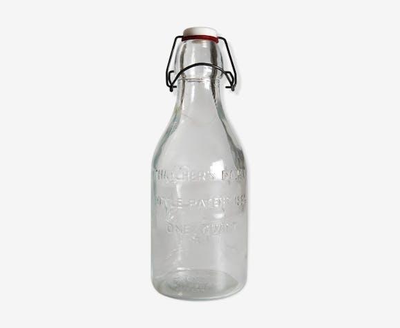 Bouteille de lait thatcher's dairy (1965)