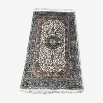 Rugs from the East Punjab India wool and silk handmade 153 X 258 cm