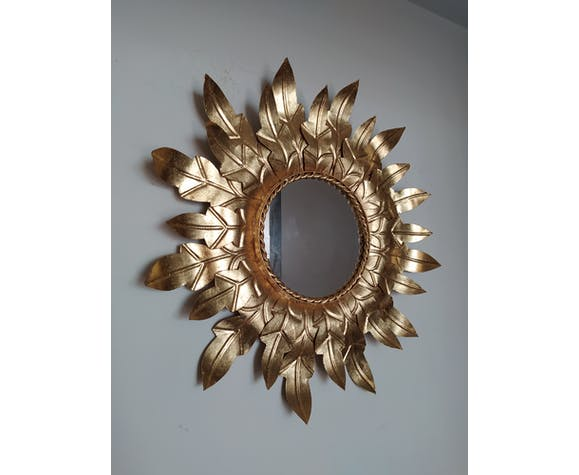 Miroir soleil vintage - 50cm