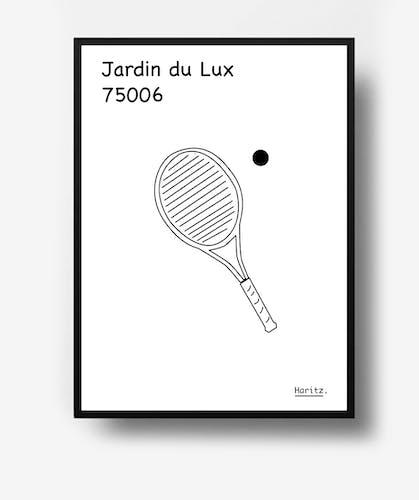 "Illustration, Paris "" Jardin du Luxembourg"""