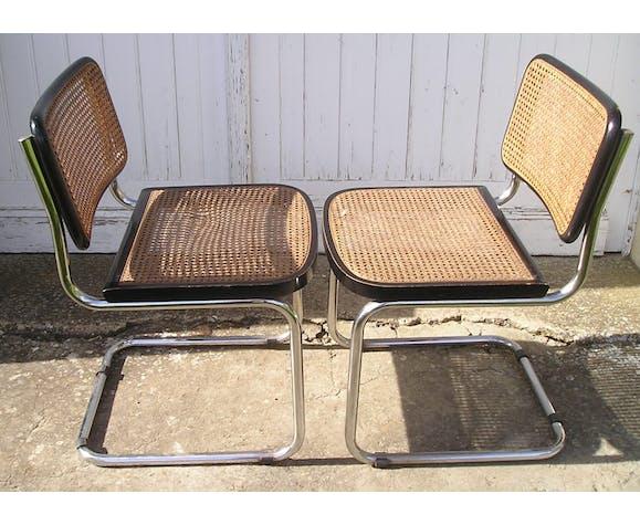 Paire de chaises B32 de Marcel Breuer