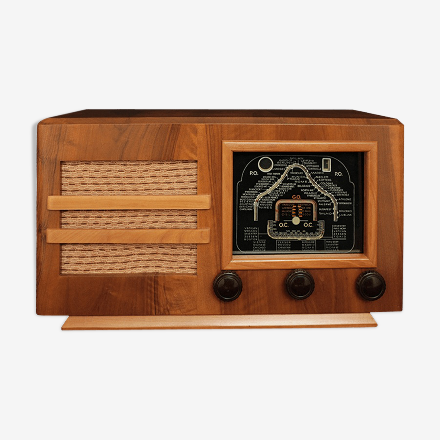 Poste radio vintage bluetooth