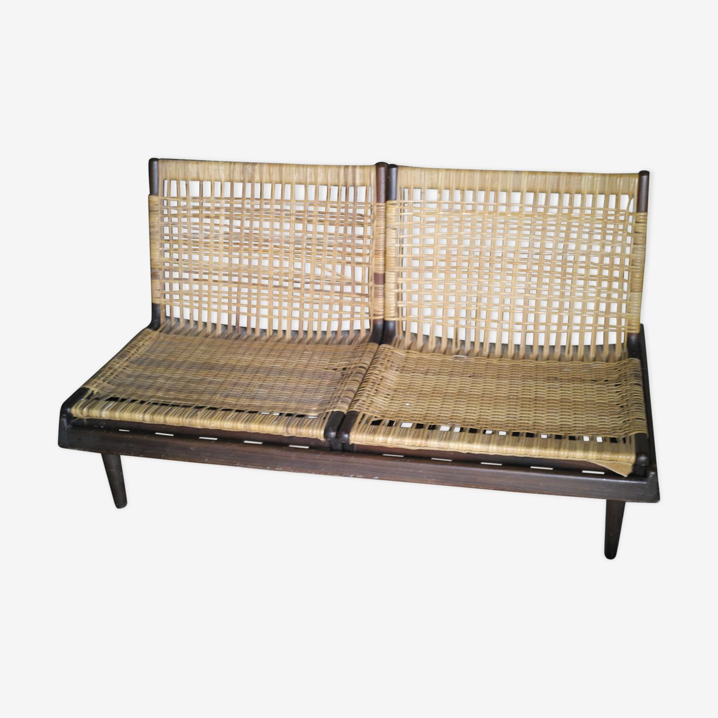 Canapé scandinave années 50 modular sofa de Hans Olsen pour Bramin