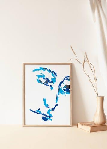 """Illustration """"pastel portait #3"""""""