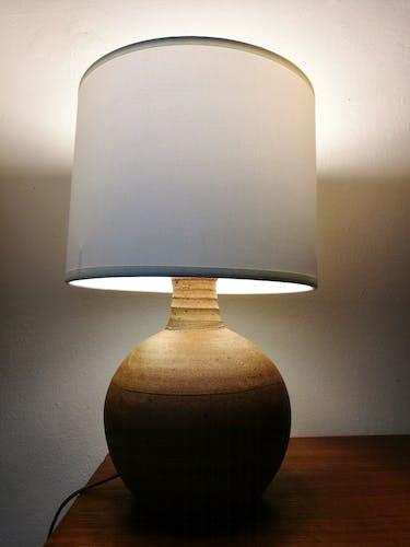 Sandstone lamp of la Borne 1970