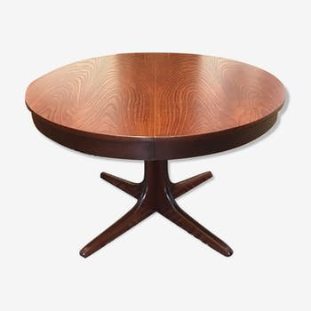 Table de salle manger vintage d 39 occasion for Table ronde scandinave extensible