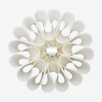 Italian plexiglass or acrylic pop flower wall lamp 1970s