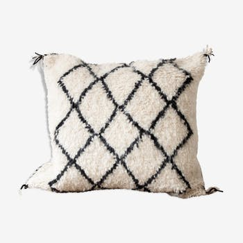 Moroccan Beni Ouarain Pillow 'Diamonds'