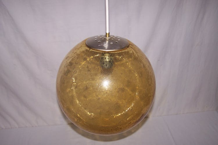 Suspension boule Parscot - années 70