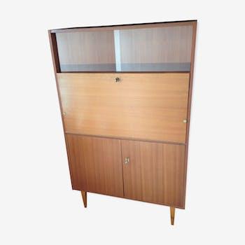 Secretary vintage wood 60s