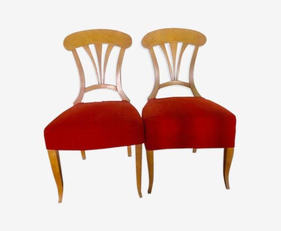 Set de 2 chaises Biedermeier