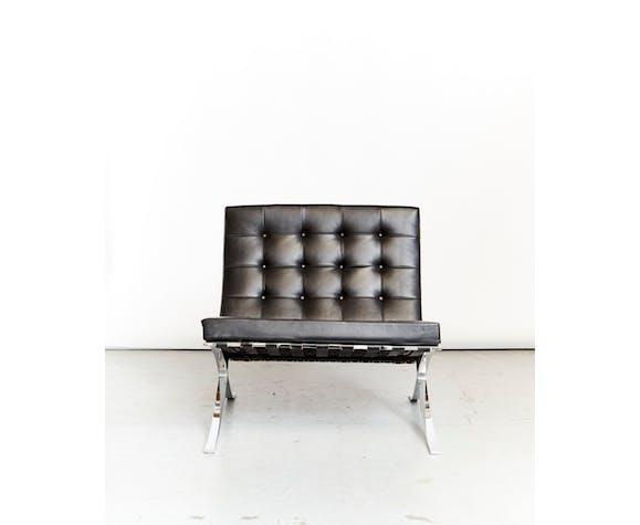 Fauteuil Barcelona MR90 par Ludwig Mies du Rohe pour Knoll International