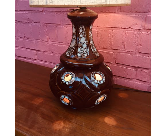 Lampe à poser céramique des années 60 - 70