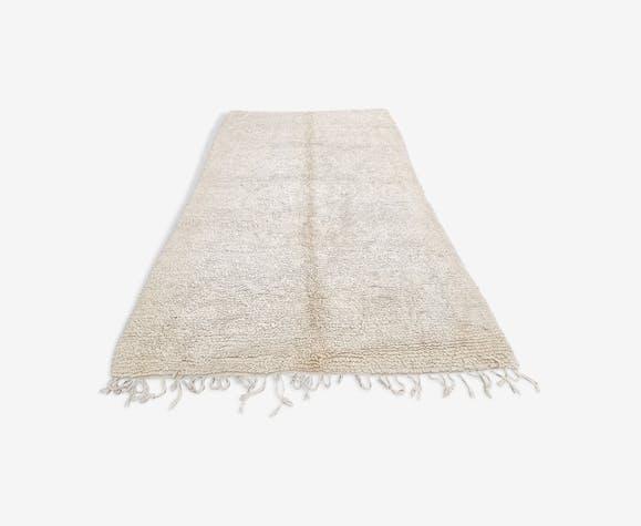 Beni ouarain handmade wool rug 310x195 cm