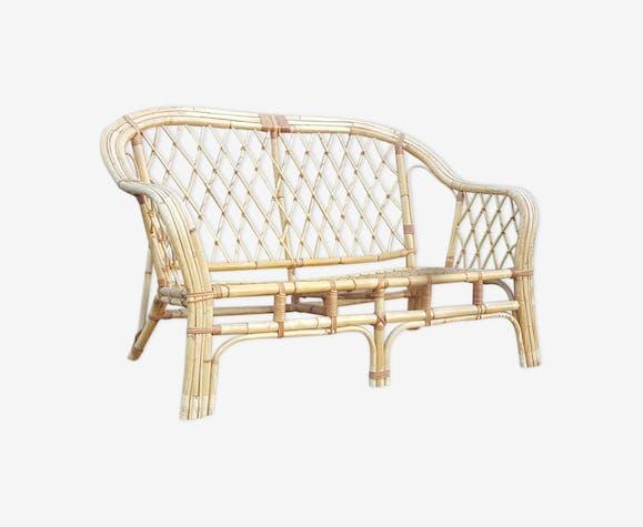 Rattan sofa 1950