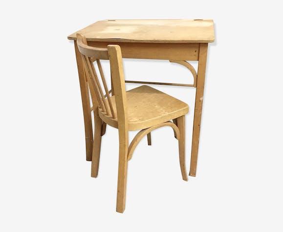 Desk and chair child Baumann, 1960