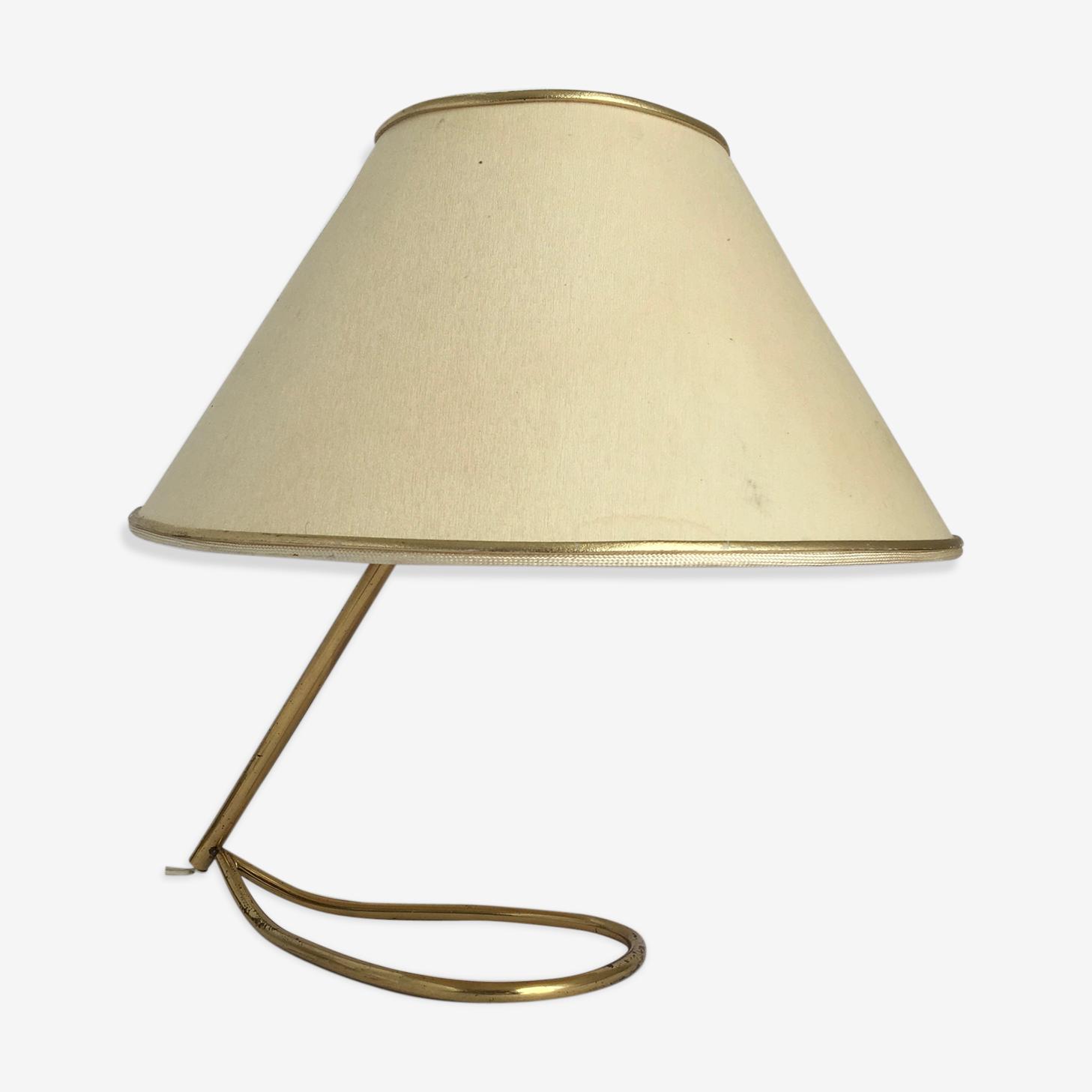 Lampe de table en métal 1950's