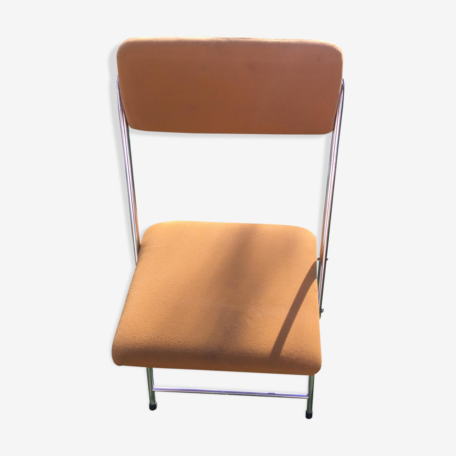 Chaise pliante année 70
