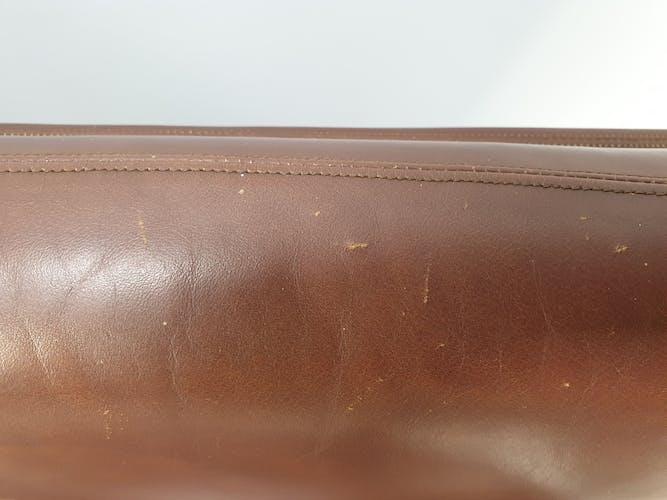 Canapé en cuir vintage de Kho Liang pour Artifort, des années 1960