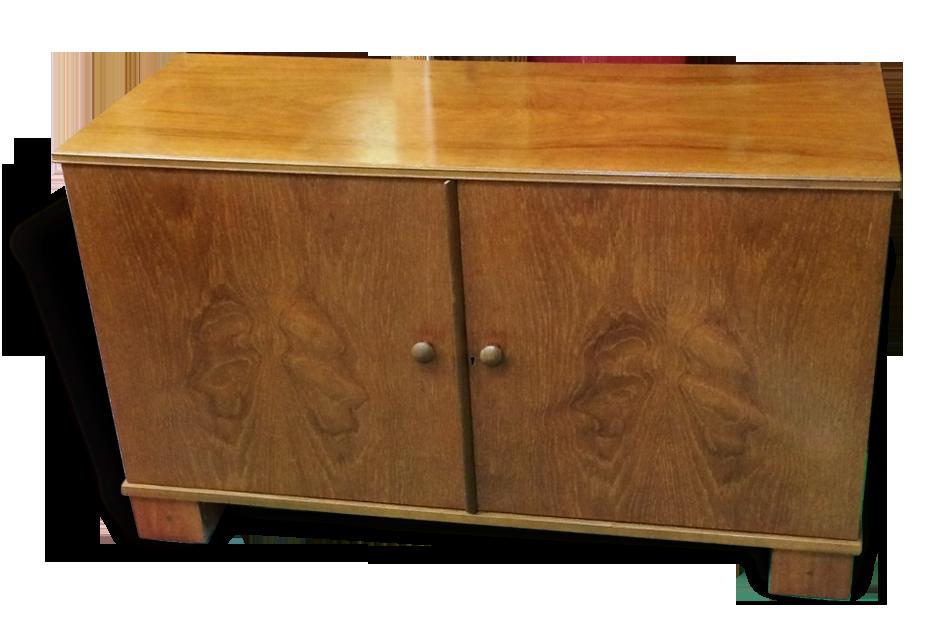 Meuble de bureau anglais années bois matériau vintage