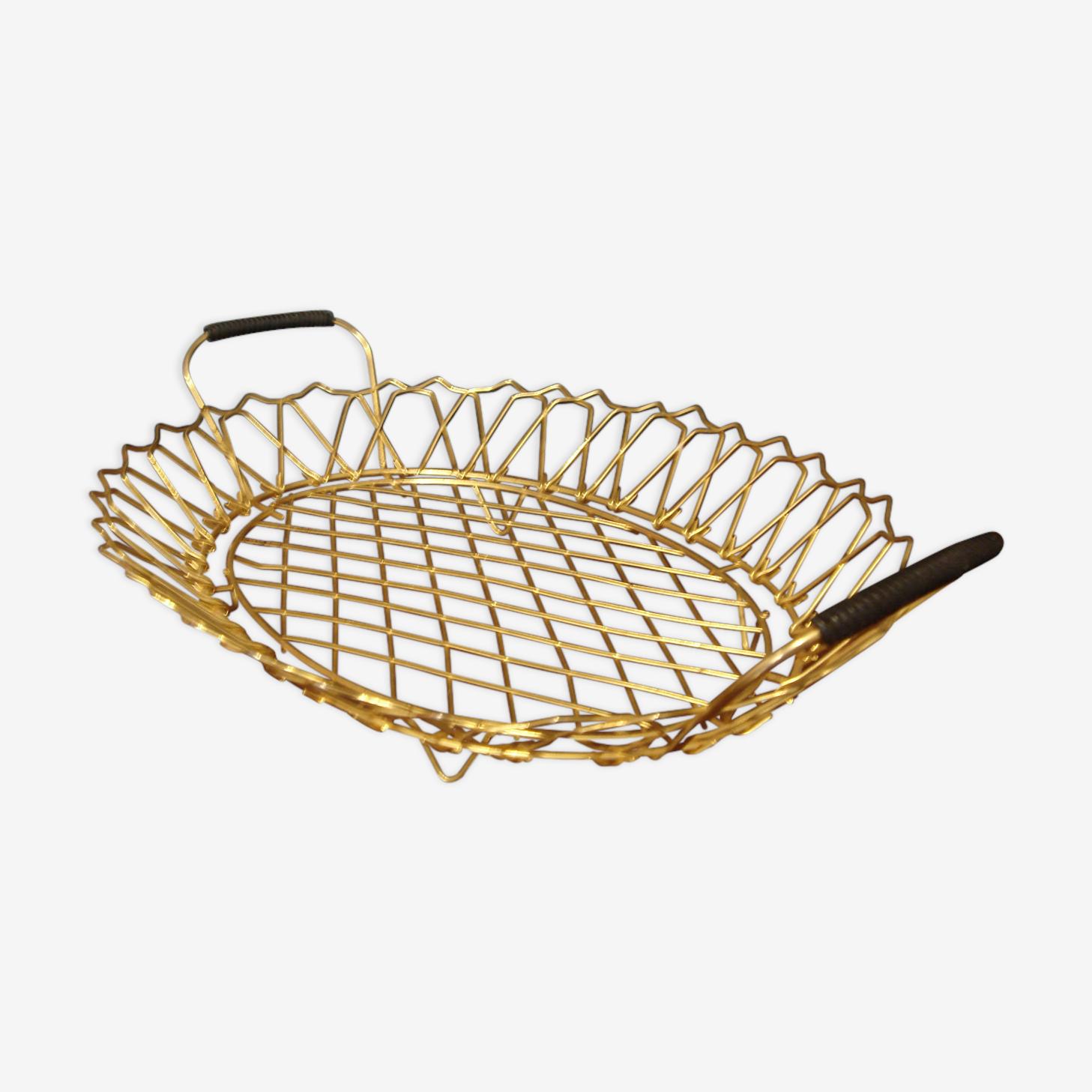 Erdecor fruit basket fine gold from 1950