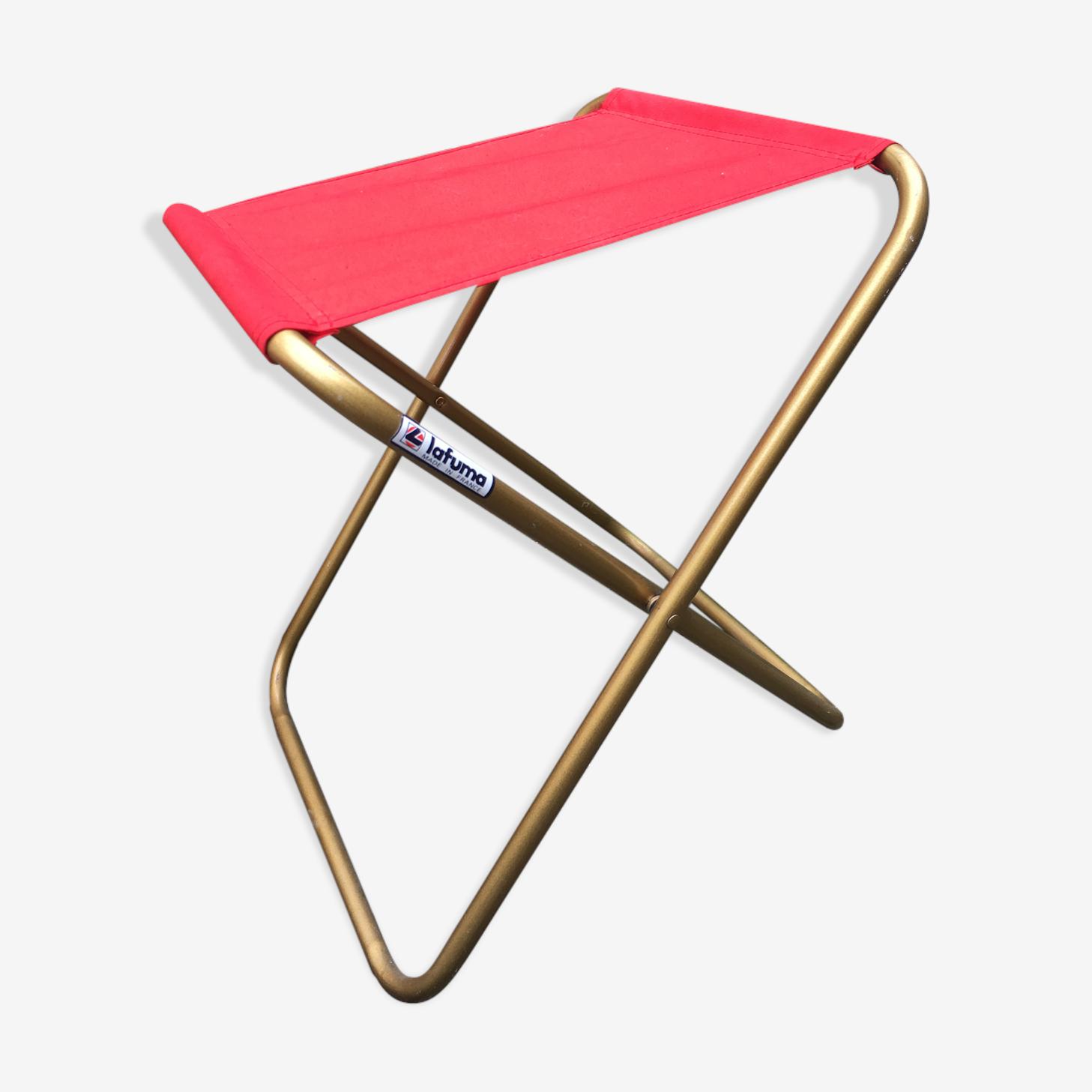 Stool folding canvas Lafuma
