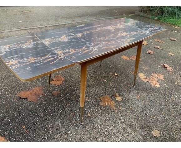 Vintage table feet compass 50