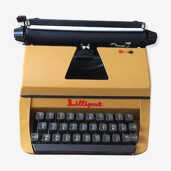 Typewriter Lilliput