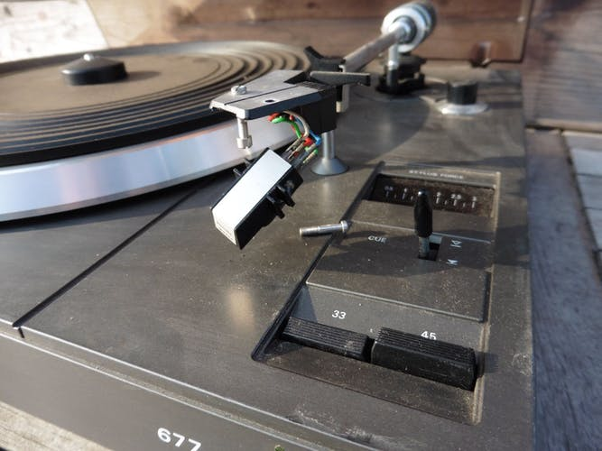 Philips 677 direct  control platine vynil